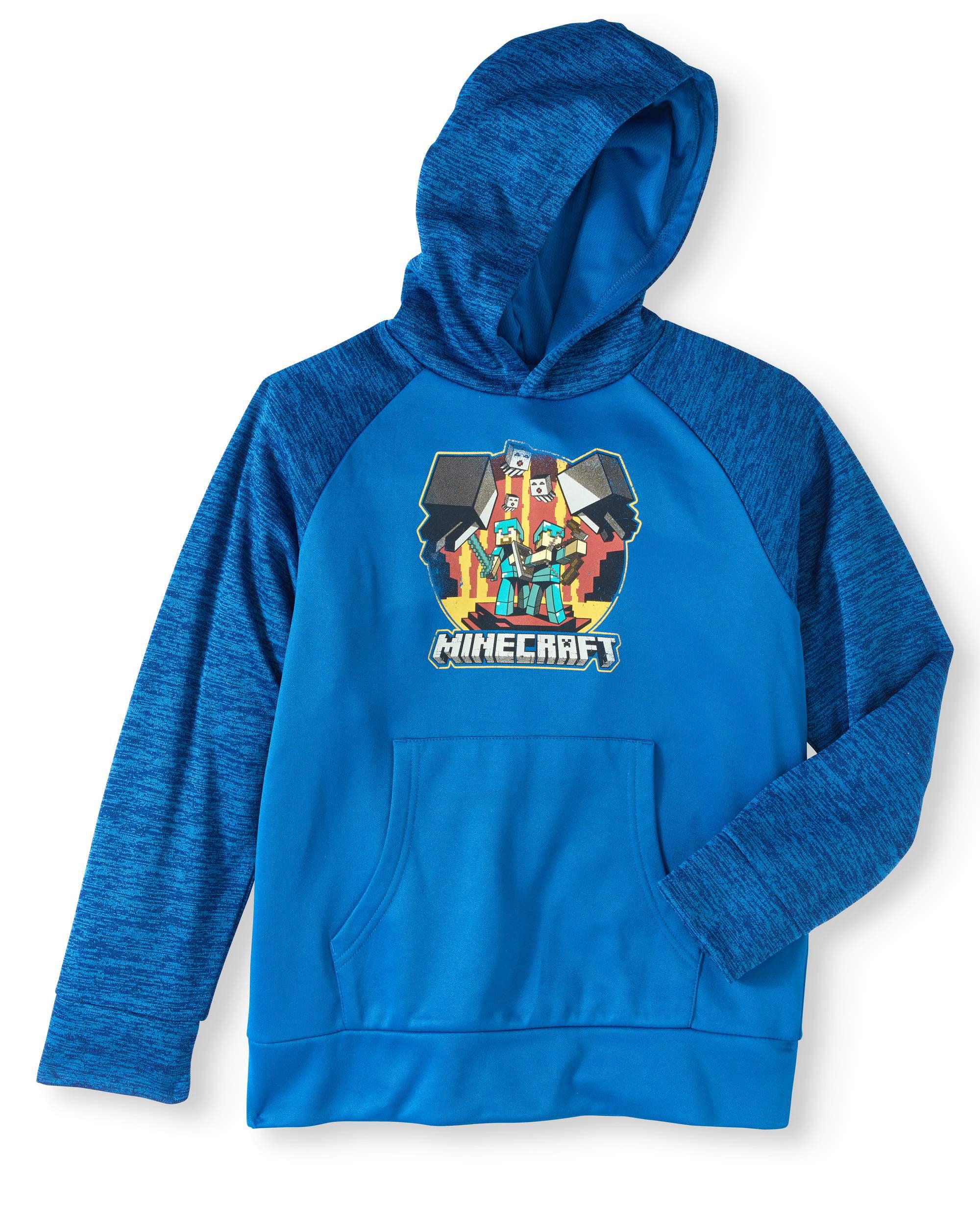 Boys' Pullover Hoodie With Spacedye Sleeves