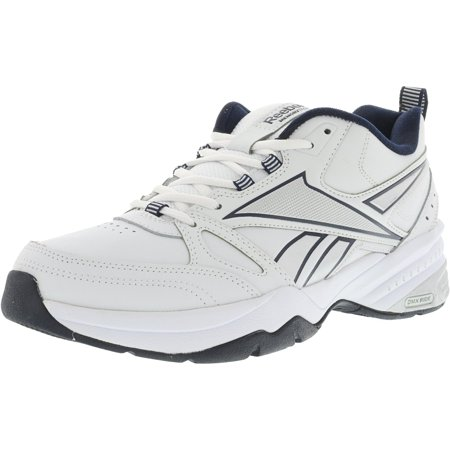 Reebok - Reebok Men s Royal Trainer Mt White   Navy Silver Ankle ... 85202e9b3