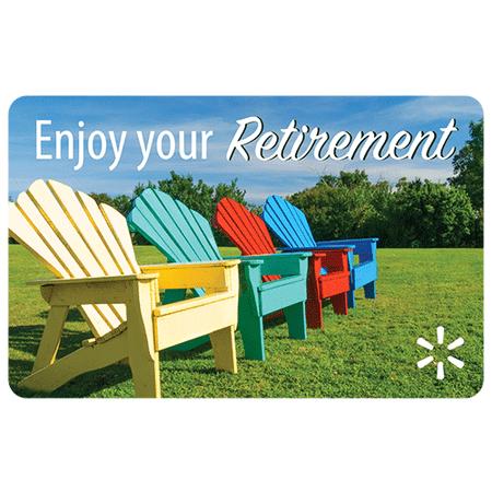 Enjoy Your Retirement Walmart eGift Card