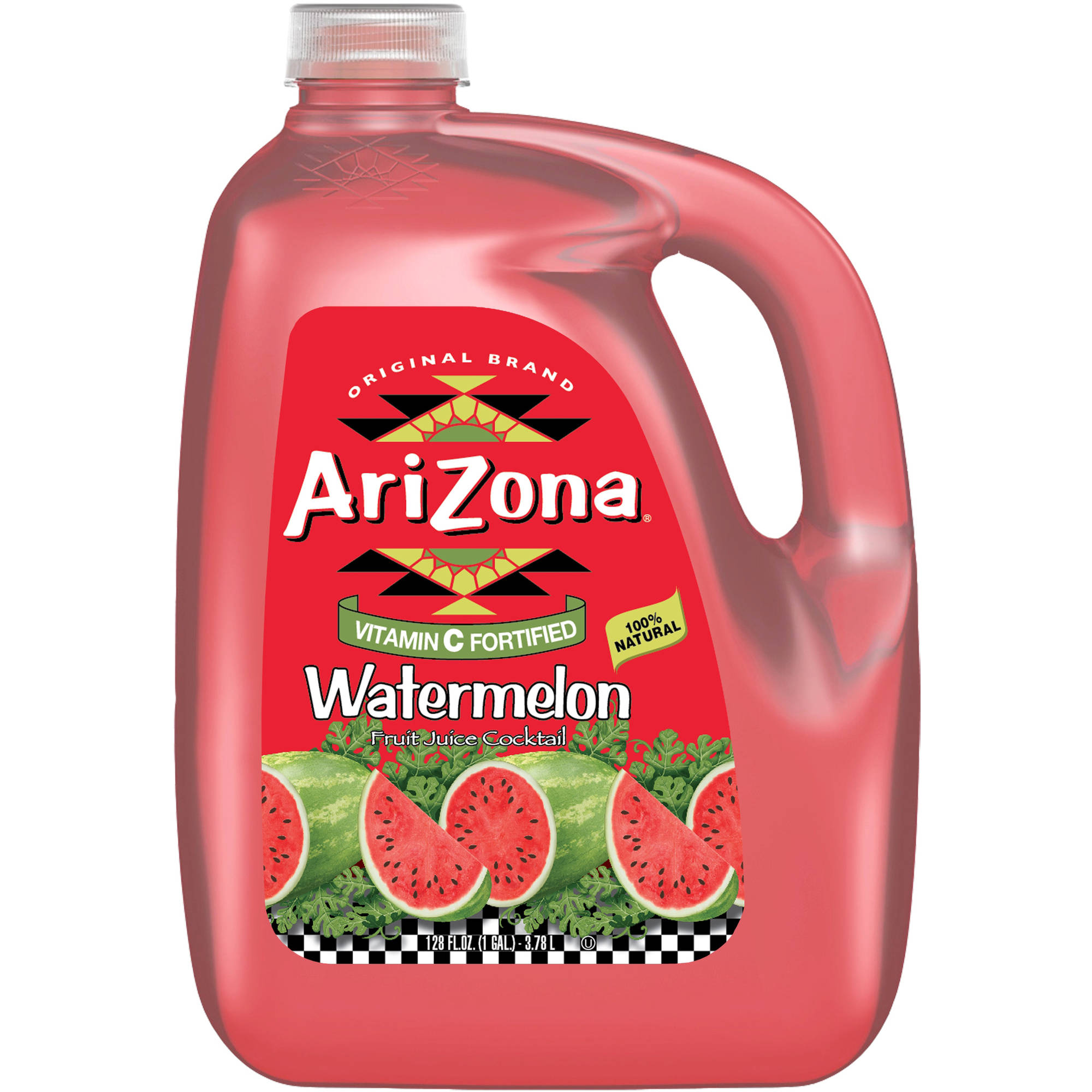 AriZona Watermelon Fruit Juice Cocktail, 1 gal