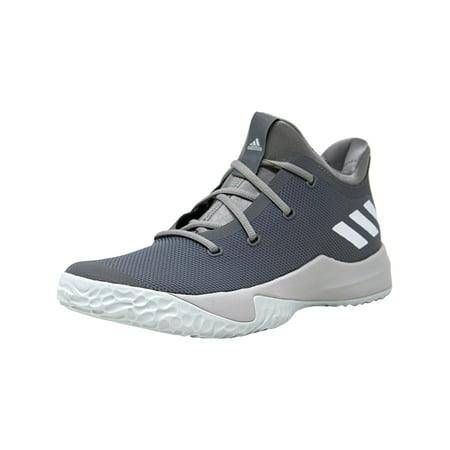 757e8e32 Adidas Men's Rise Up 2 Grey / Footwear White Ankle-High Basketball Shoe - 9M