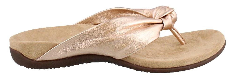 679c753344ae Vionic - Vionic PIPPA-RSGLDW  Womens Rest Pippa Toepost Rose Gold Wide  Sandal - Walmart.com