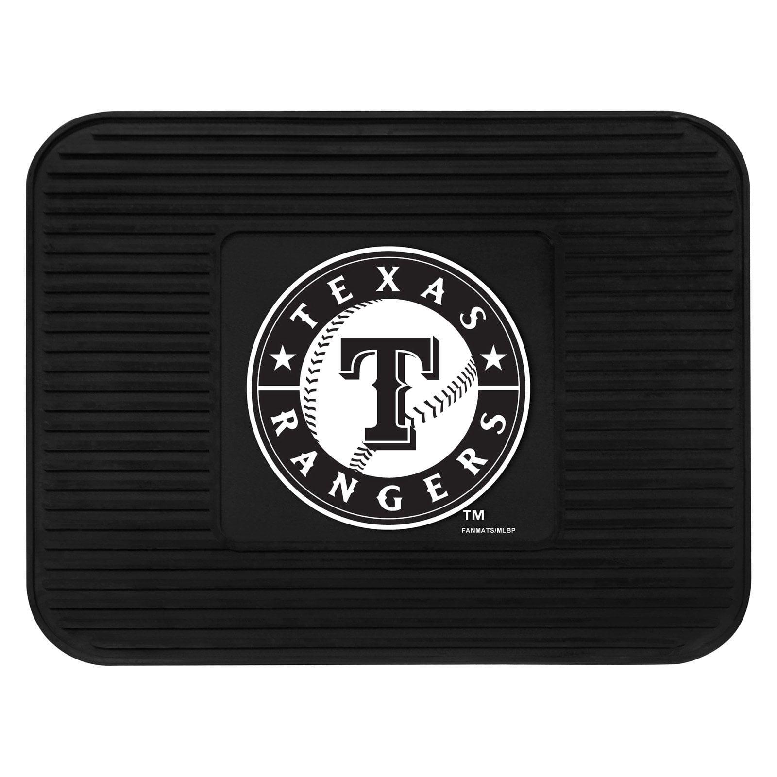 "Texas Rangers Utility Mat 14""x17"""