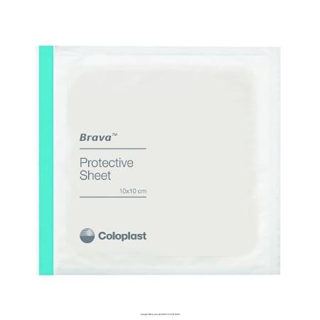 Coloplast Brava Stoma Skin Protective Sheet - 32105BX - 4