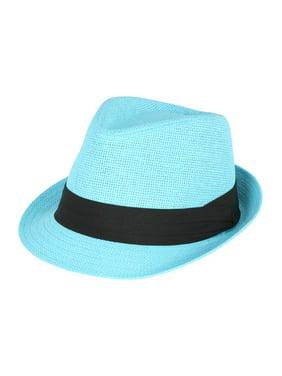 9bd21b0e Tweed Classic Cuban Style Fedora Fashion Cap Hat