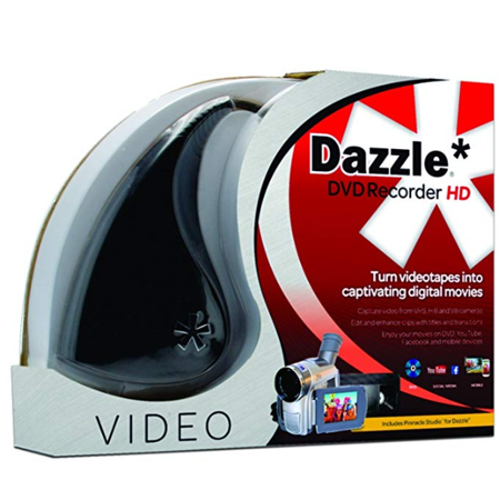 Dazzle DVD Recorder HD VHS to DVD Converter for (Samsung Dvd Recorder Hard Drive)
