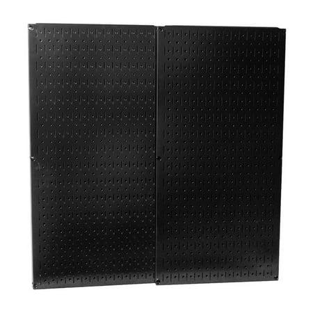 - Black Metal Pegboard Pack - Two Pegboard Tool Boards