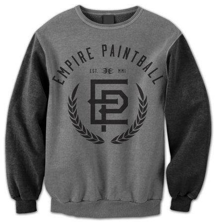 Empire Lifestyle Paintball Sweatshirt F5 Manchester - GREY - Small