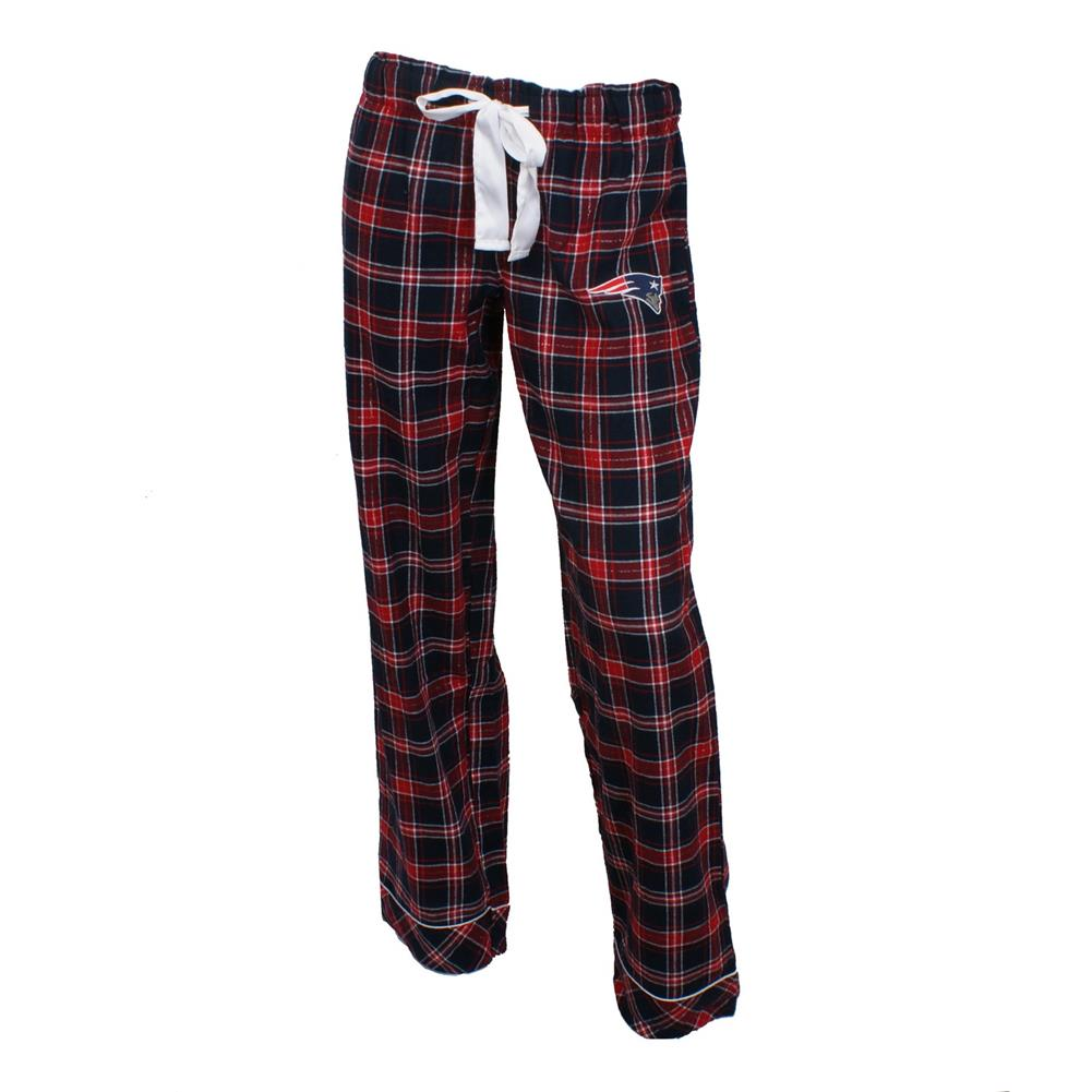 Ladies Capitvate Flannel New England Patriots Pajama Pants