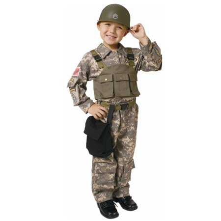 Boys Special Forces Military Halloween Costume - Special Halloween Dinner