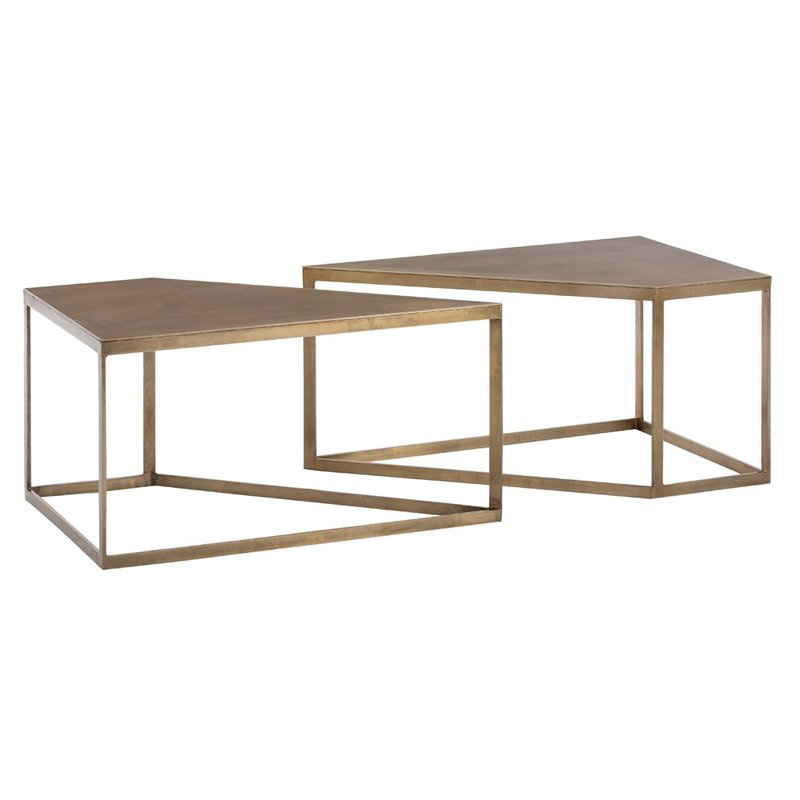 Arterior Homes Austin Cocktail Table Set of 2 by