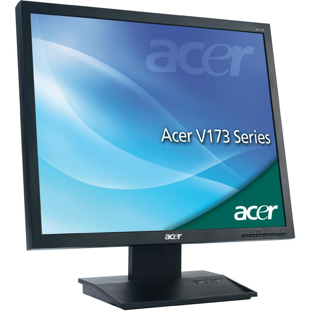 "Acer 17"" LCD V173 VGA Monitor with power cord and vga cable"