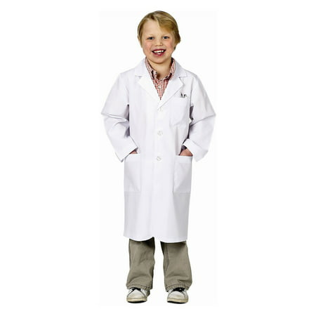 Aeromax Jr. Lab Coat - Halloween Costume Doctor Lab Coat