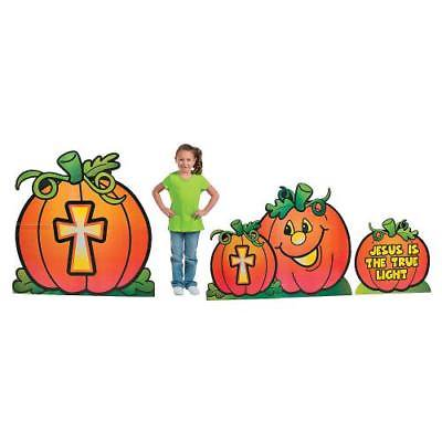 IN-13743121 Christian Pumpkin Cardboard Stand-Ups