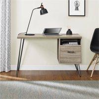 Altra Landon Desk, Sonoma Oak/Gunmetal Gray