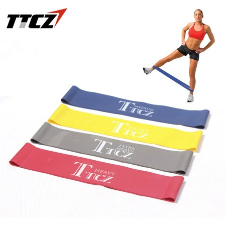 Elastic Tension Resistance Band Fitness Rubber Loop Band Yoga Equipment - image 9 of 9