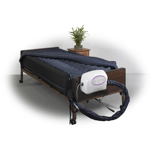 "Drive Medical Lateral Rotation Mattress with on Demand Low Air Loss, 10"" by Drive Medical"