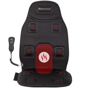 Back Massager 8-Motor Vibration Full Back Heated Car Seat Massager For Home Office Seat Use