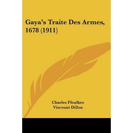 Gaya's Traité Des Armes, 1678