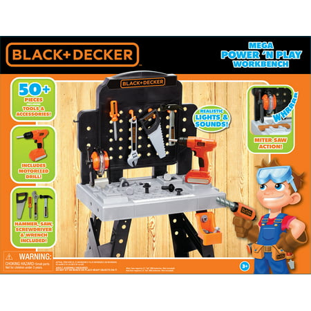 black and decker toy workbench walmart