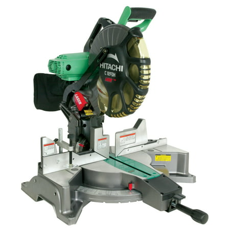 Hitachi C12Fdh 12-Inch Dual Compound Miter Saw With Laser