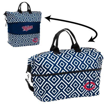 Minnesota Twins Official MLB Expandable Tote by Logo Chair Inc. 054429 by