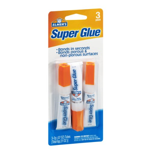 Elmer's E616 Super Glue 0.07-Ounce, 3-Pack (Pack of 3)