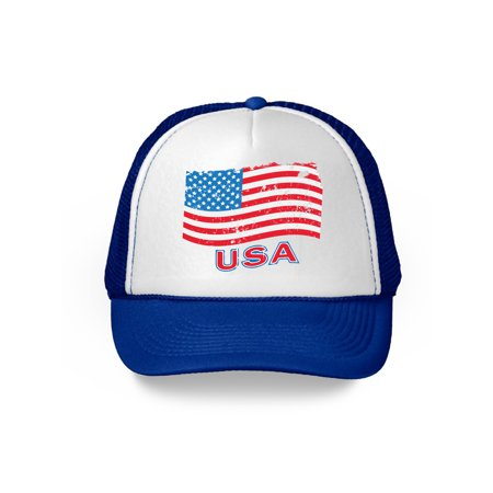 Awkward Styles USA Flag Hat American Trucker Hats for Women Men 4th of July Party American Flag Hat USA Baseball Cap Patriotic Hat American Flag Men Women 4th of July Hat 4th of July