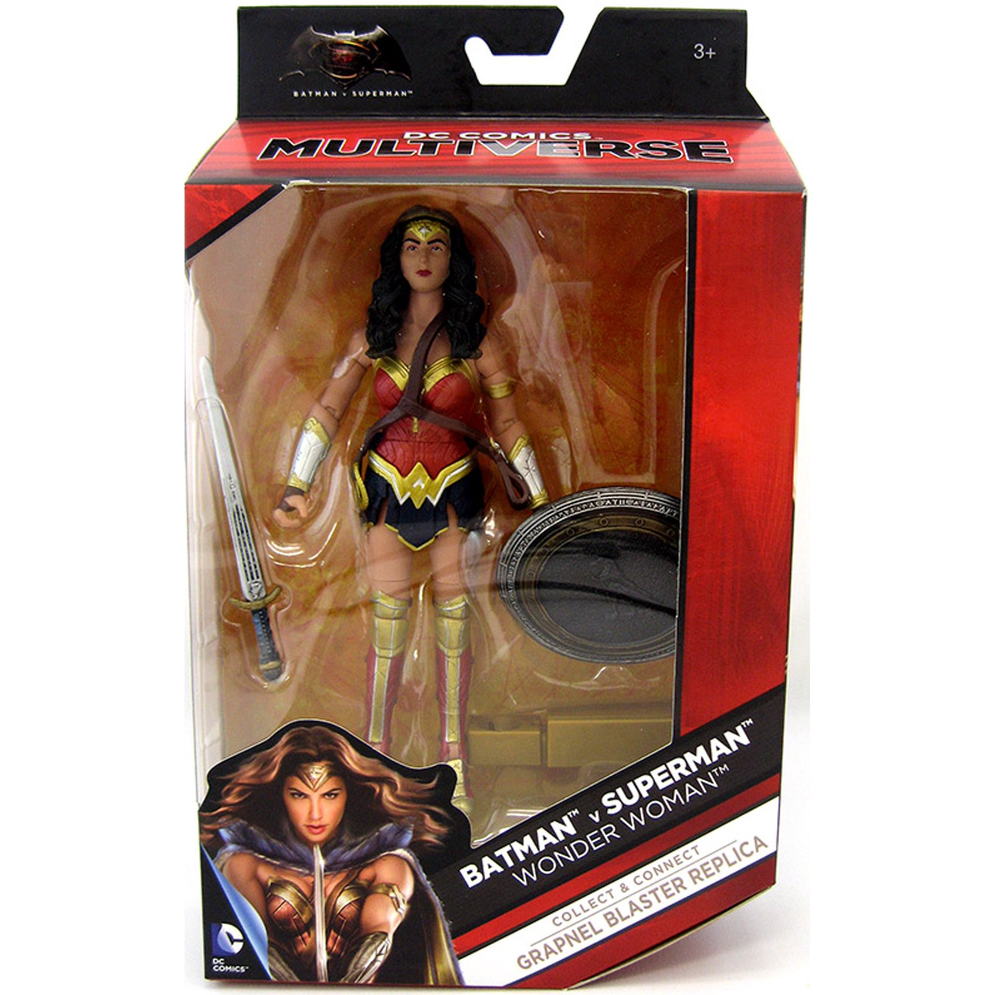 9f452c6fe75 DC Comics Multiverse 6 Inch Action Figure Grapnel Blaster Series - Batman V  Superman Wonder Woman  3 of 8