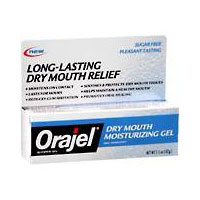 Orajel Dry Mouth Moisturizing Gel - 1.5 Oz, 6 Pack