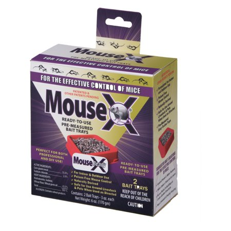MouseX Ready Use Mouse Bait Trays