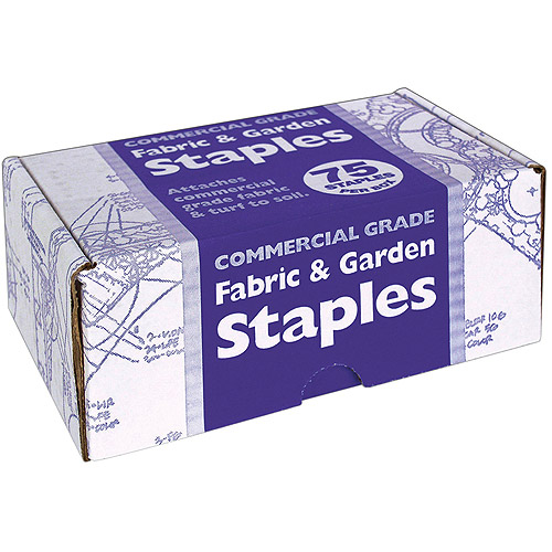 Easy Gardener 815 75 Count Fabric & Garden Staples
