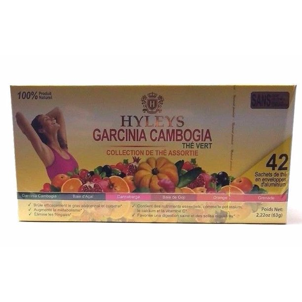 Hyleys 100 Natural Garcinia Cambogia Assorted Tea Collection 42