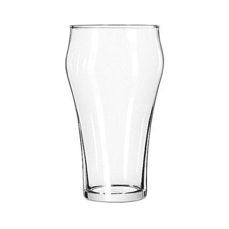 Bell Soda Glasses, 21 Oz, Clear, - Soda Glasses