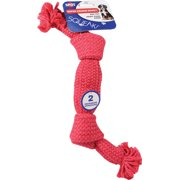 SUPER SQUEAK ROPE DOG TOY