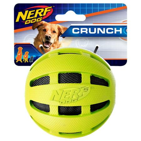 Nerf Pet Green Crinkle Ball 3.8