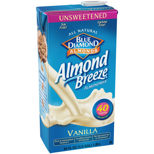 Blue Diamond Almonds® Almond Breeze® Unsweetened Vanilla Almondmilk 64 fl. oz. Aseptic Pack
