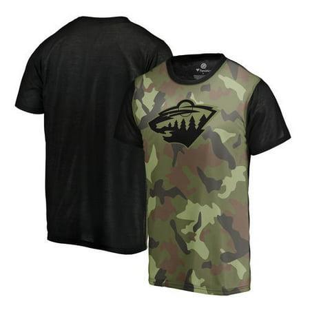 Minnesota Wild Fanatics Branded Camo Blast T-Shirt - Camo