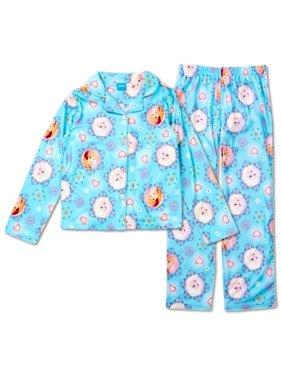 Product Image Disney Frozen Anna and Elsa MicroFleece Girls Pajama 5183b5c32