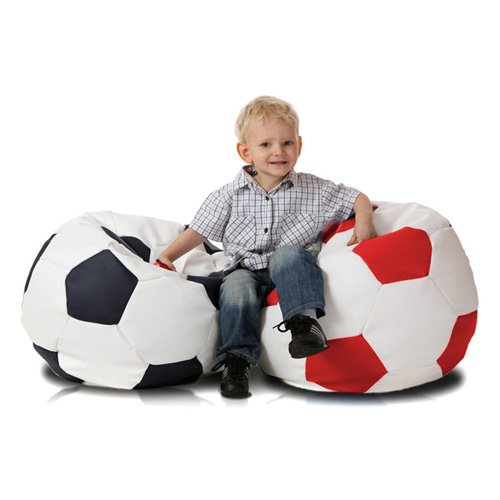 Turbo Beanbags Soccer Ball Medium Bean Bag Chair
