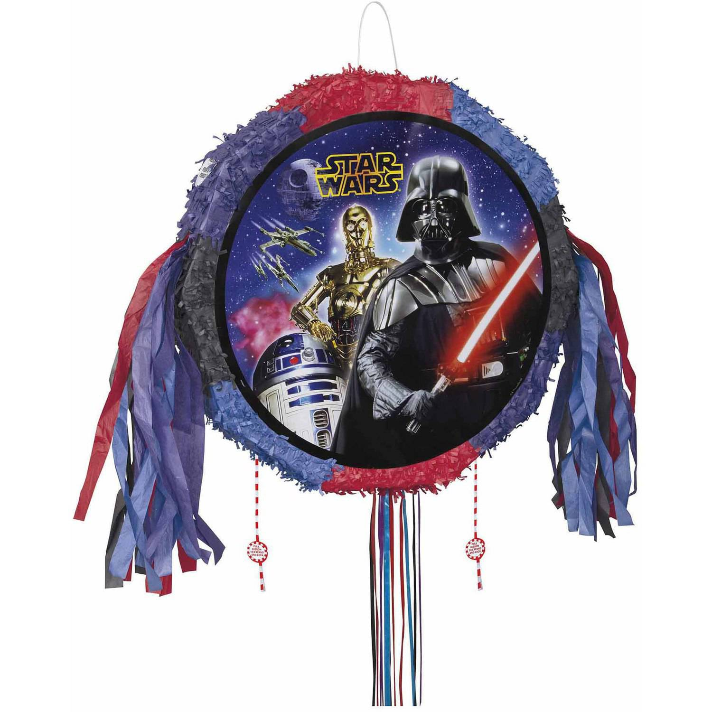 Star Wars Pinata, Pull String, 18 x 18, 1ct