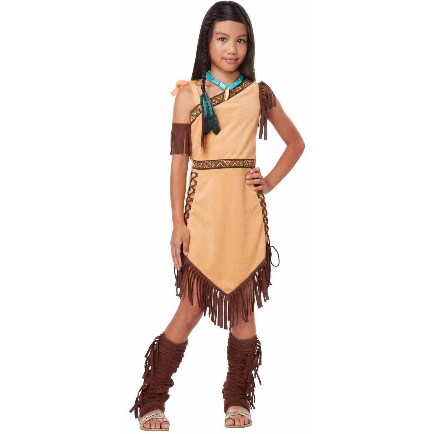 sc 1 st  Walmart & Native American Princess Girlsu0027 Child Halloween Costume - Walmart.com