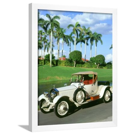 1919 Rolls Royce Silver Ghost Cockshoot Framed Print Wall