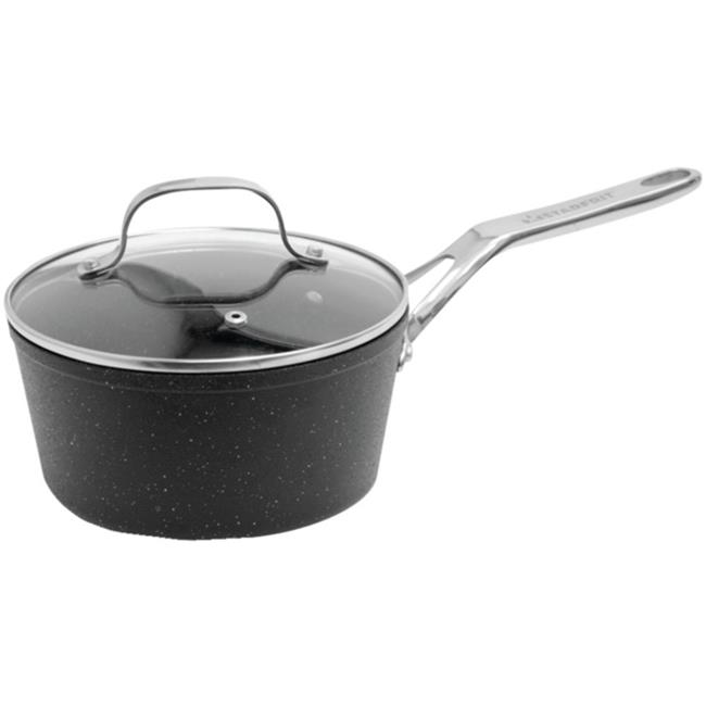The Rock by Starfrit 060315-004-0000 2-Quart Saucepan with Glass Lid & Stainless Steel Handles - image 1 of 1