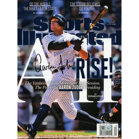 1980 Sports Illustrated Magazine - Aaron Judge New York Yankees Autographed All Rise Sports Illustrated Magazine - Fanatics Authentic Certified