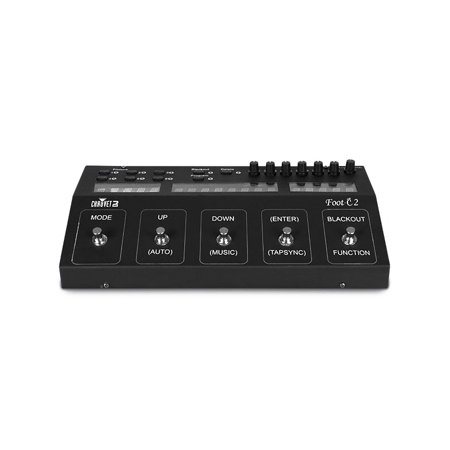Chauvet DJ Foot-C 2 Lighting 36 Channel Foot Control DMX Light Controller - New