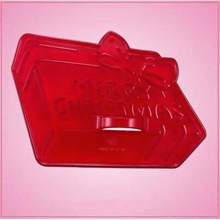 Vintage Style Christmas Present Cookie Cutter