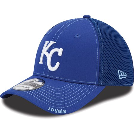 New Era Kansas City Royals Neo 39Thirty Stretch Fit Hat - Royal Blue