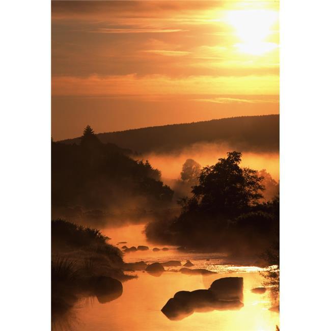 Posterazzi DPI1840057 Sunset Glendalough - Glendalough Co Wicklow Ireland Poster Print, 12 x 18 - image 1 of 1