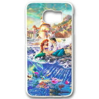 Ganma Thomas Kinkade Little Mermaid Case For Samsung Galaxy Case (Case For Samsung Galaxy S6 White)